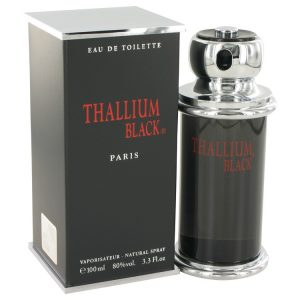 Thallium Black by Yves De Sistelle Eau DeToilette Spray 3.3 oz Men