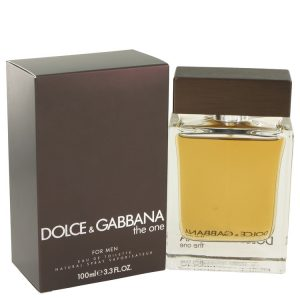 The One by Dolce & Gabbana Eau De Toilette Spray 3.4 oz Men