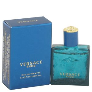 Versace Eros by Versace Mini EDT .16 oz Men