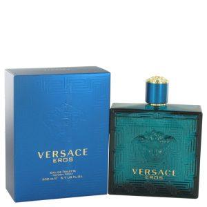 Versace Eros by Versace Eau De Toilette Spray 6.7 oz Men