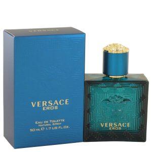 Versace Eros by Versace Eau De Toilette Spray 1.7 oz Men
