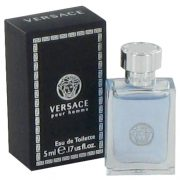 Versace Pour Homme by Versace Mini EDT .17 oz Men