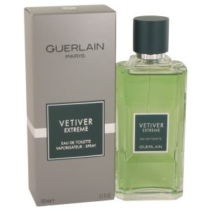 Vetiver Extreme by Guerlain Eau De Toilette Spray 3.4 oz Men