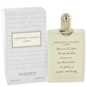 Capri by Adrienne Vittadini Eau De Parfum Spray 3.4 oz Women