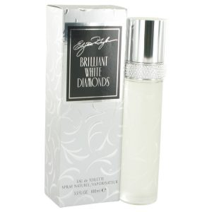White Diamonds Brilliant by Elizabeth Taylor Eau De Toilette Spray 3.3 oz Women