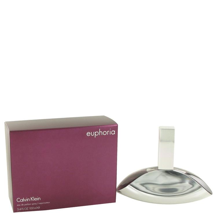 Euphoria by Calvin Klein Eau De Parfum Spray 3.3 oz Women
