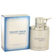 Yacht Man Metal by Myrurgia Eau De Toilette Spray 3.4 oz Men