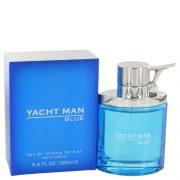 Yacht Man Blue by Myrurgia Eau De Toilette Spray 3.4 oz Men