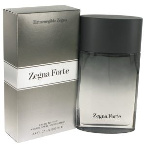 Zegna Forte by Ermenegildo Zegna Eau De Toilette Spray 3.4 oz Men