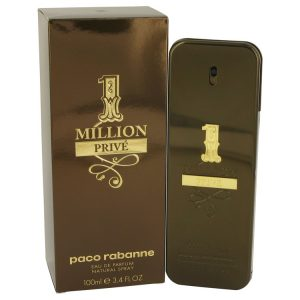 1 Million Prive by Paco Rabanne Eau De Parfum Spray 3.4 oz Men