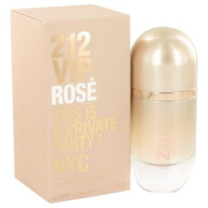 212 VIP Rose by Carolina Herrera Eau De Parfum Spray 1.7 oz Women