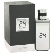 24 Platinum Elixir by ScentStory Eau De Parfum Spray 3.4 oz Men
