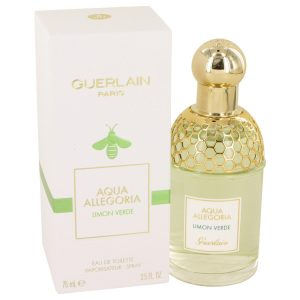 AQUA ALLEGORIA Limon Verde by Guerlain Eau De Toilette Spray 2.5 oz Women