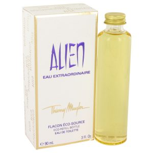 Alien Eau Extraordinaire by Thierry Mugler Eau De Toilette Spray Eco Refill 3 oz Women