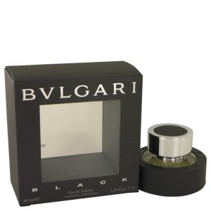 BVLGARI BLACK (Bulgari) by Bvlgari Eau De Toilette Spray 1.3 oz Men