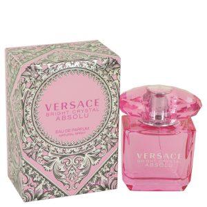 Bright Crystal Absolu by Versace Eau De Parfum Spray 1 oz Women