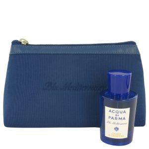 Blu Mediterraneo Cedro Di Taormina by Acqua Di Parma Gift Set -- 2.5 oz Eau De Toilette Spray (Unisex) in Bag Women