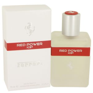 Ferrari Red Power Ice 3 by Ferrari Eau De Toilette Spray 2.5 oz Men