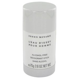 L'EAU D'ISSEY (issey Miyake) by Issey Miyake Deodorant Stick 2.5 oz Men