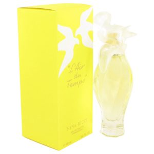L'AIR DU TEMPS by Nina Ricci Eau De Toilette Spray W/Bird Cap 3.3 oz Women