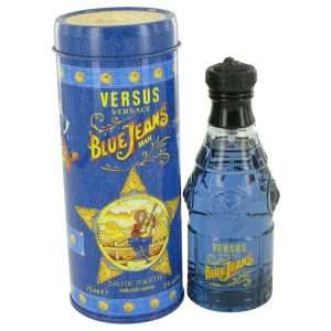 BLUE JEANS by Versace Eau De Toilette Spray (New Packaging) 2.5 oz Men