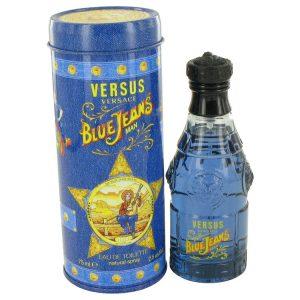 BLUE JEANS by Versace Eau De Toilette Spray (New Packaging) 2.5 oz Men