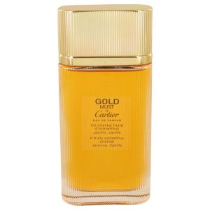 Must De Cartier Gold by Cartier Eau De Parfum Spray (Tester) 3.3 oz Women