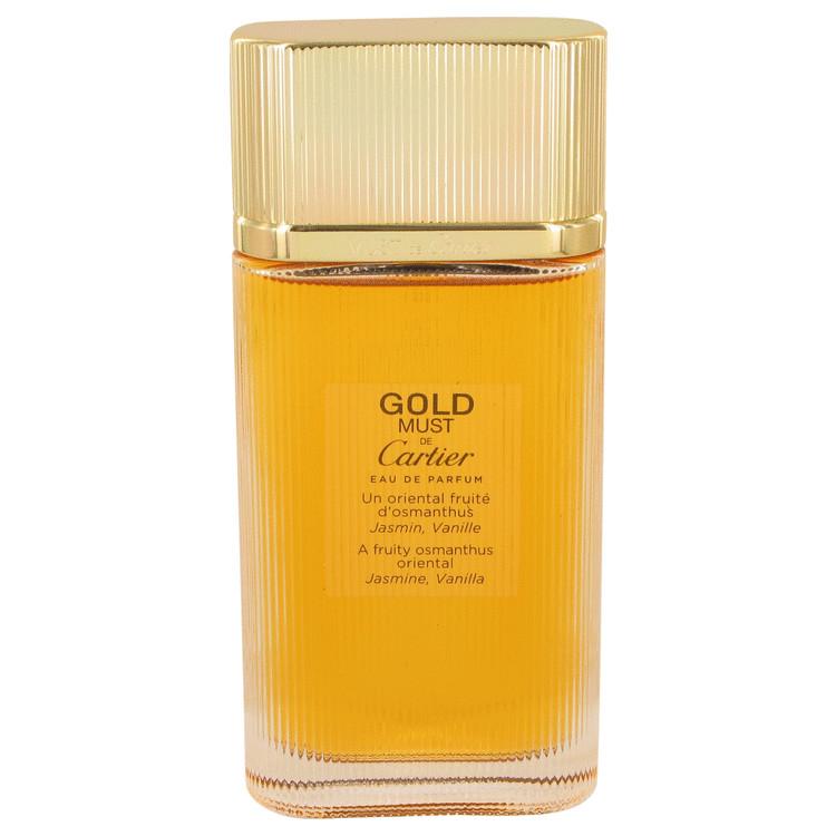 Must De Cartier Gold by Cartier Eau De Parfum Spray (Tester) 3.3 oz Women