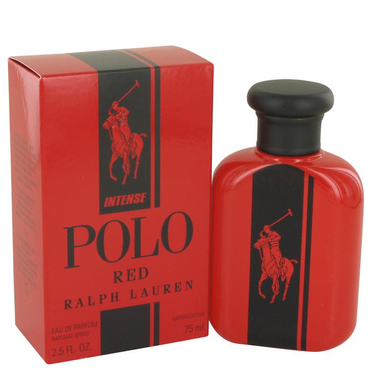 Polo Red Intense by Ralph Lauren Eau De Parfum Spray 2.5 oz Men