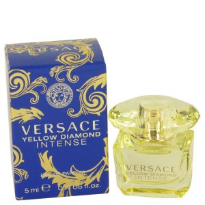 Versace Yellow Diamond Intense by Versace Mini EDP .17 oz Women