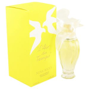 L'AIR DU TEMPS by Nina Ricci Eau De Parfum Spray W/Bird Cap 1.7 oz Women