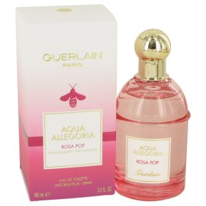 Aqua Allegoria Rosa Pop by Guerlain Eau De Toilette Spray 3.3 oz Women
