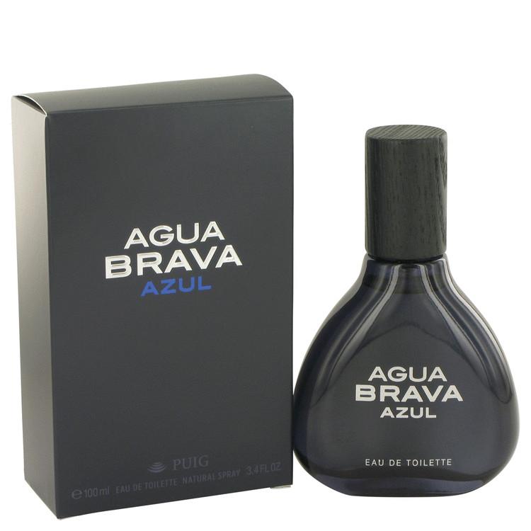 Agua Brava Azul by Antonio Puig Eau De Toilette Spray 3.4 oz Men