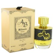 AB Spirit Millionaire Black Rose by Lomani Eau De Parfum Spray 3.3 oz Women