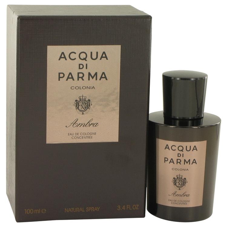 Acqua Di Parma Colonia Ambra by Acqua Di Parma Eau De Cologne Concentrate Spray 3.3 oz Men