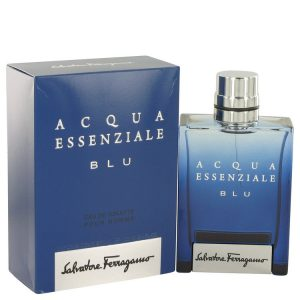 Acqua Essenziale Blu by Salvatore Ferragamo Eau De Toilette Spray 3.4 oz Men
