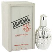 Arsenal Platinum by Arsenal Eau De Parfum Spray 3.4 oz Men