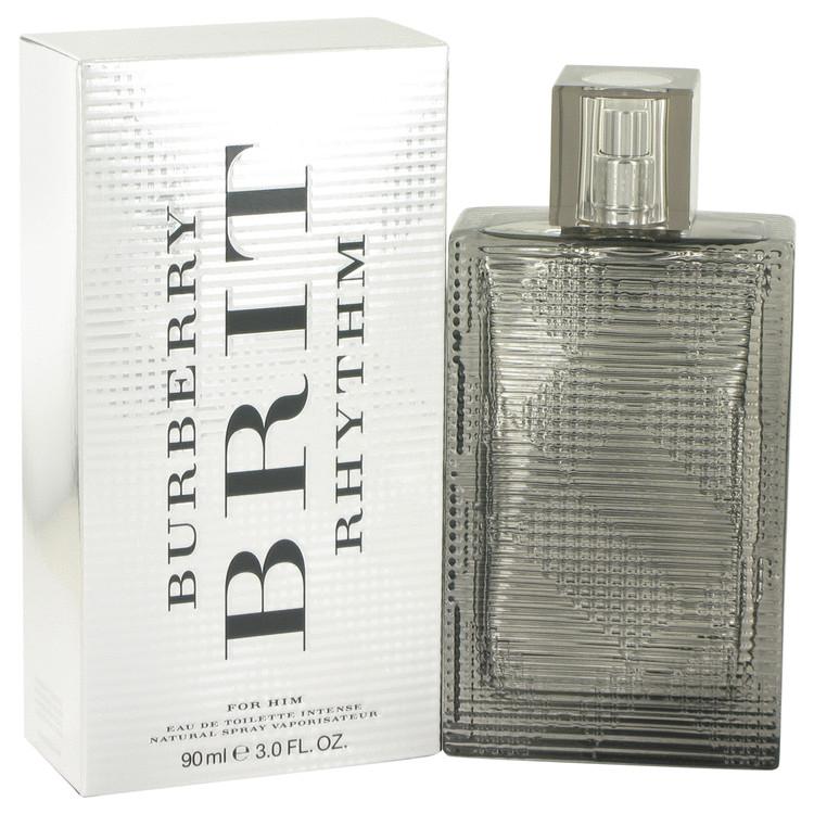 Burberry Brit Rhythm Intense by Burberry Eau De Toilette Spray 3 oz Men