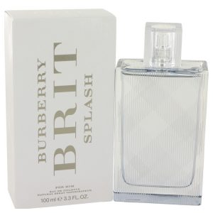Burberry Brit Splash by Burberry Eau De Toilette Spray 3.4 oz Men