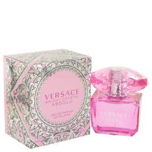 Bright Crystal Absolu by Versace Eau De Parfum Spray 3 oz Women