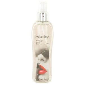 Bodycology Scarlet Kiss by Bodycology Fragrance Mist Spray 8 oz Women