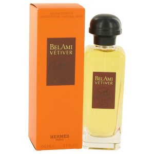 Bel Ami Vetiver by Hermes Eau De Toilette Spray 3.3 oz Men