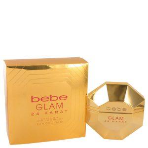 Bebe Glam 24 Karat by Bebe Eau De Parfum Spray 3.4 oz Women
