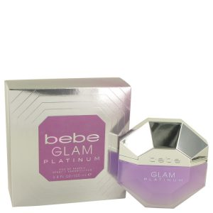 Bebe Glam Platinum by Bebe Eau De Parfum Spray 3.4 oz Women