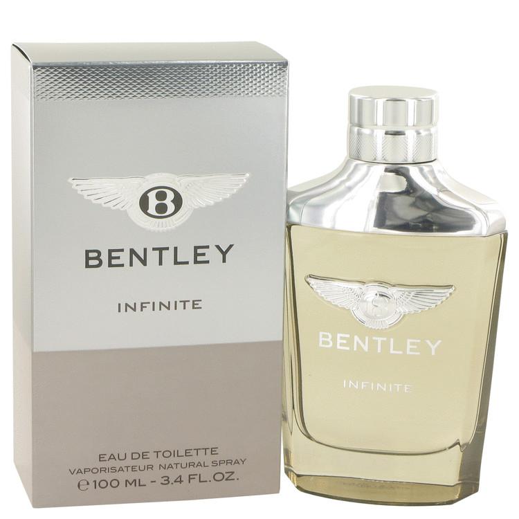 Bentley Infinite by Bentley Eau De Toilette Spray 3.4 oz Men