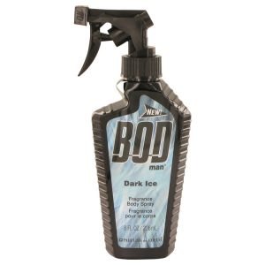 Bod Man Dark Ice by Parfums De Coeur Body Spray 8 oz Men