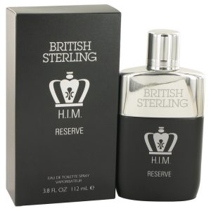 British Sterling Him Reserve by Dana Eau De Toilette Spray 3.8 oz Men