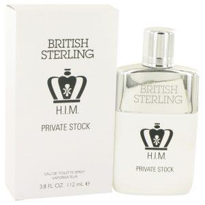 British Sterling Him Private Stock by Dana Eau De Toilette Spray 3.8 oz Men