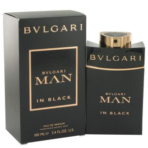 Bvlgari Man In Black by Bvlgari Eau De Parfum Spray 3.4 oz Men
