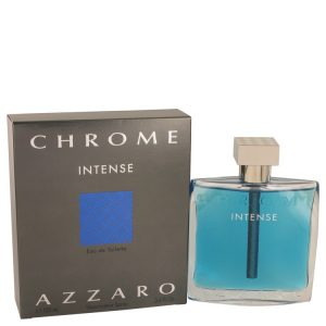 Chrome Intense by Azzaro Eau De Toilette Spray 3.4 oz Men